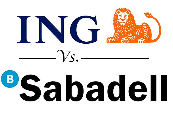 Comparativa entre ING y Banco Sabadell