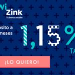 WiZink mejora su depósito: a 14 meses y 1,15 % TAE