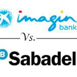 Comparativa cuentas online: imaginBank vs. Banco Sabadell