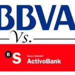 Comparativa cuentas sin comisiones y sin vinculación: BBVA vs. Activo Bank