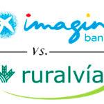 Comparativa cuentas con descuentos en compras: imaginBank vs. Ruralvía