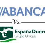 Comparativa cuenta nómina: Abanca vs. Caja España - Caja Duero