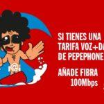 Pepephone rebaja su velocidad de fibra óptica