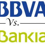 Comparativa cuentas móvil: BBVA vs. Bankia