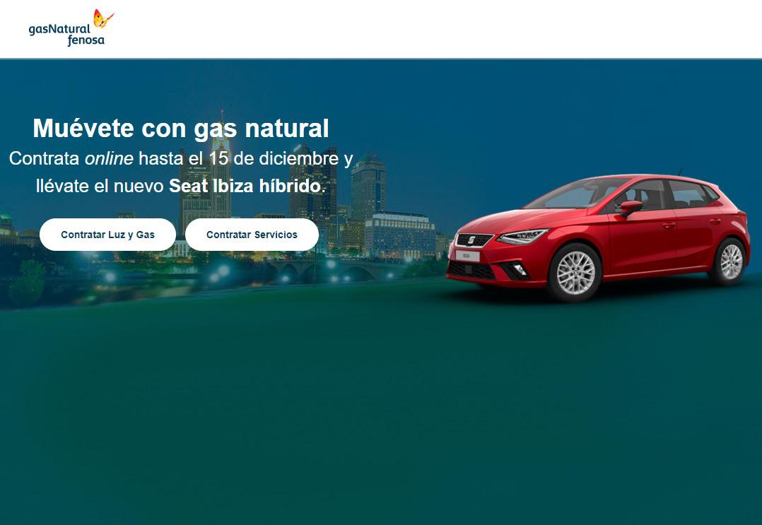 Sorteo de coche en GasNatural Fenosa
