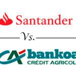 Comparativa cuentas nómina: Santander vs. Bankoa
