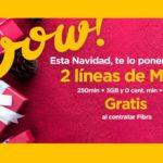 Jazztel suma una línea móvil gratis por Navidad