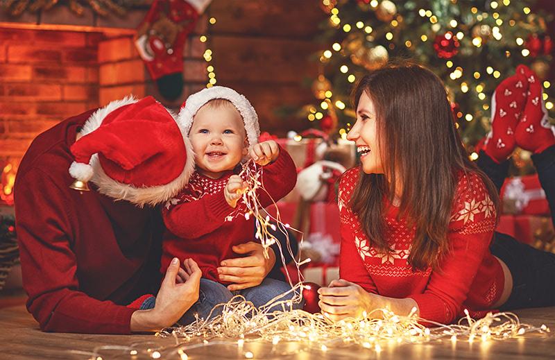 ahorrar luz navidad decoracion
