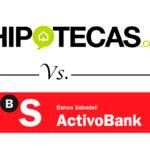 Comparativa de hipotecas a tipo fijo: Hipotecas.com vs. ActivoBank