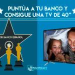 Promoción HelpMyCash: puntúa a tu banco y gana un televisor de 40 pulgadas