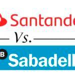 Comparativa cuentas nómina: Banco Santander vs. Banco Sabadell