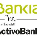 Cuentas sin nómina con posibilidad de domiciliarla: Bankia vs. ActivoBank