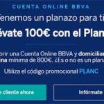 BBVA regala 100 euros por domiciliar la nómina con su Plan C