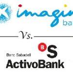 Comparativa de cuentas online: imaginBank vs. ActivoBank