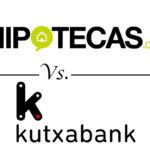 Comparativa de hipotecas a tipo fijo: Hipotecas.com vs. Kutxabank