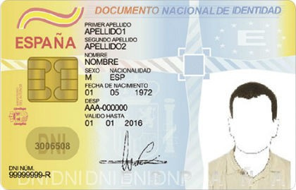 docmento de identificacion personal