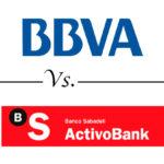 Comparativa cuentas online: BBVA vs. Activo Bank
