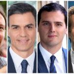 Estas son las hipotecas de los principales candidatos a la presidencia del Gobierno de España