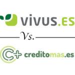 Comparativa de minipréstamos: Vivus vs. Creditomas