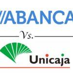 Comparativa cuentas con regalo: Abanca vs. Unicaja