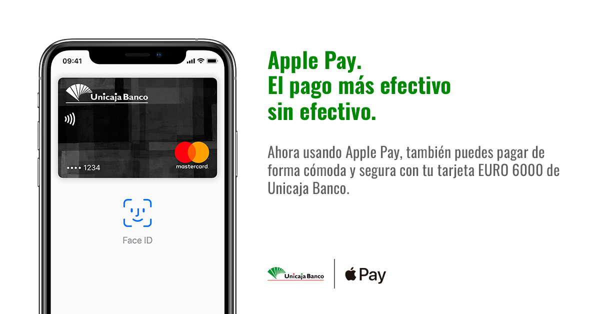 unicaja apple pay