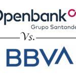 Comparativa cuentas conjuntas: BBVA vs. Openbank