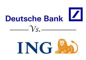 deutsche bank vs ing