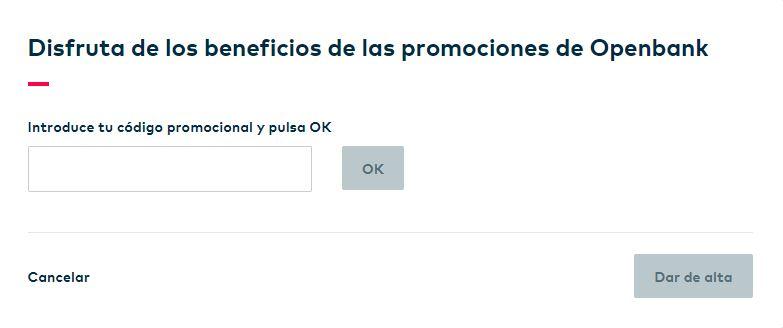 openbank promo