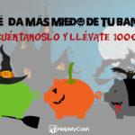 Promoción especial de Halloween: consigue 1 de los 3 cheques Amazon de 100€ que sorteamos