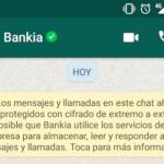 Bankia crea una cuenta de WhatsApp para dar información sobre sus hipotecas