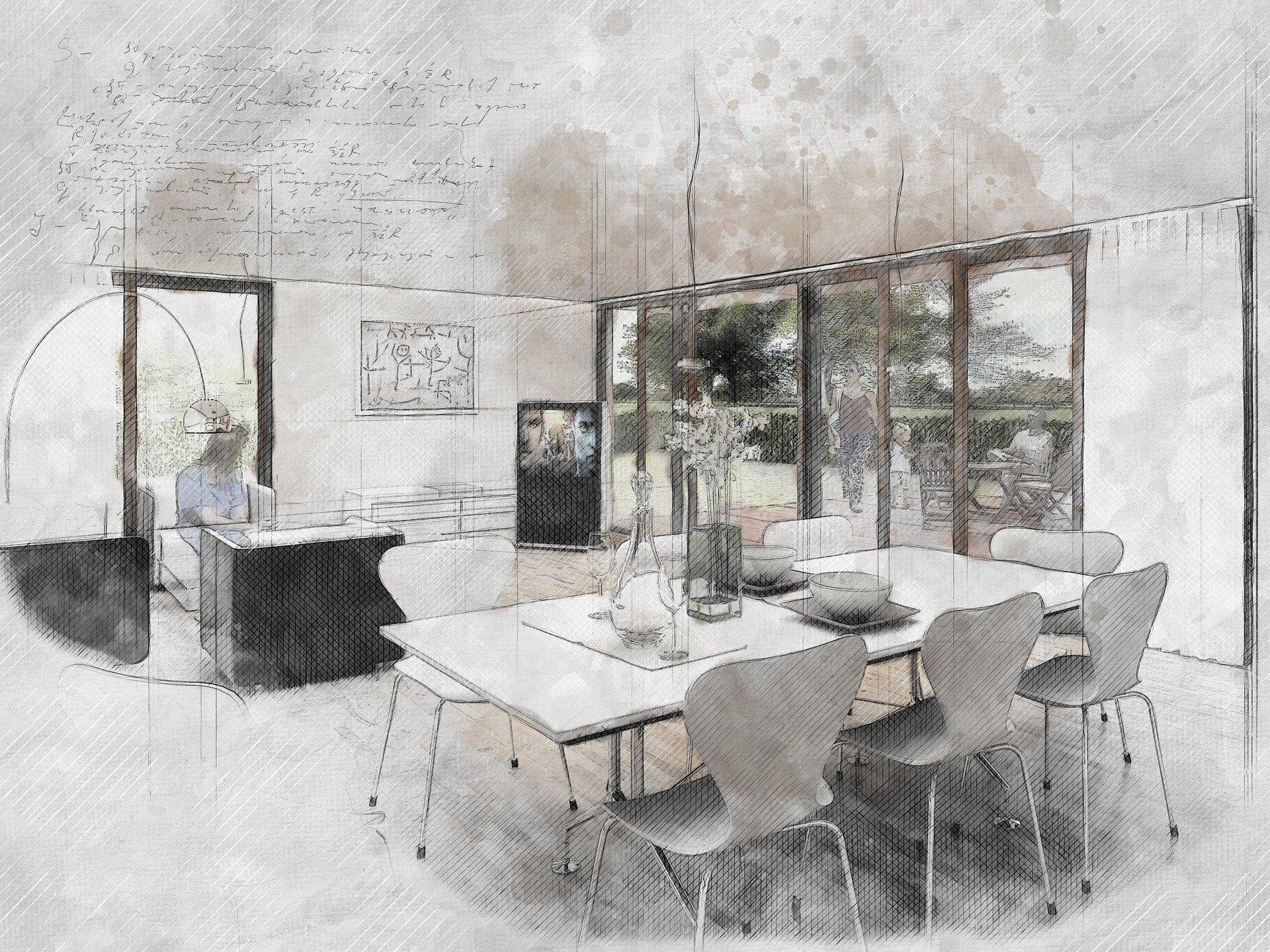 los planos de la vivienda son un tramite recomendado para vender casa
