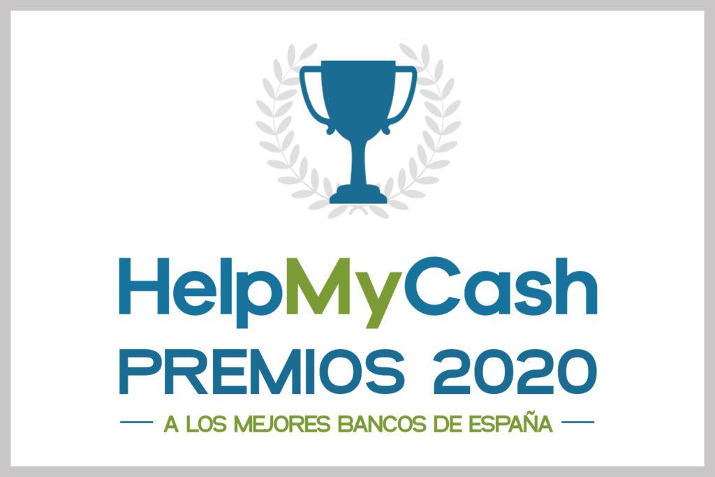 Premios HelpMyCash 2020: puntúa a tu banco y gana un cheque Amazon de 100 euros