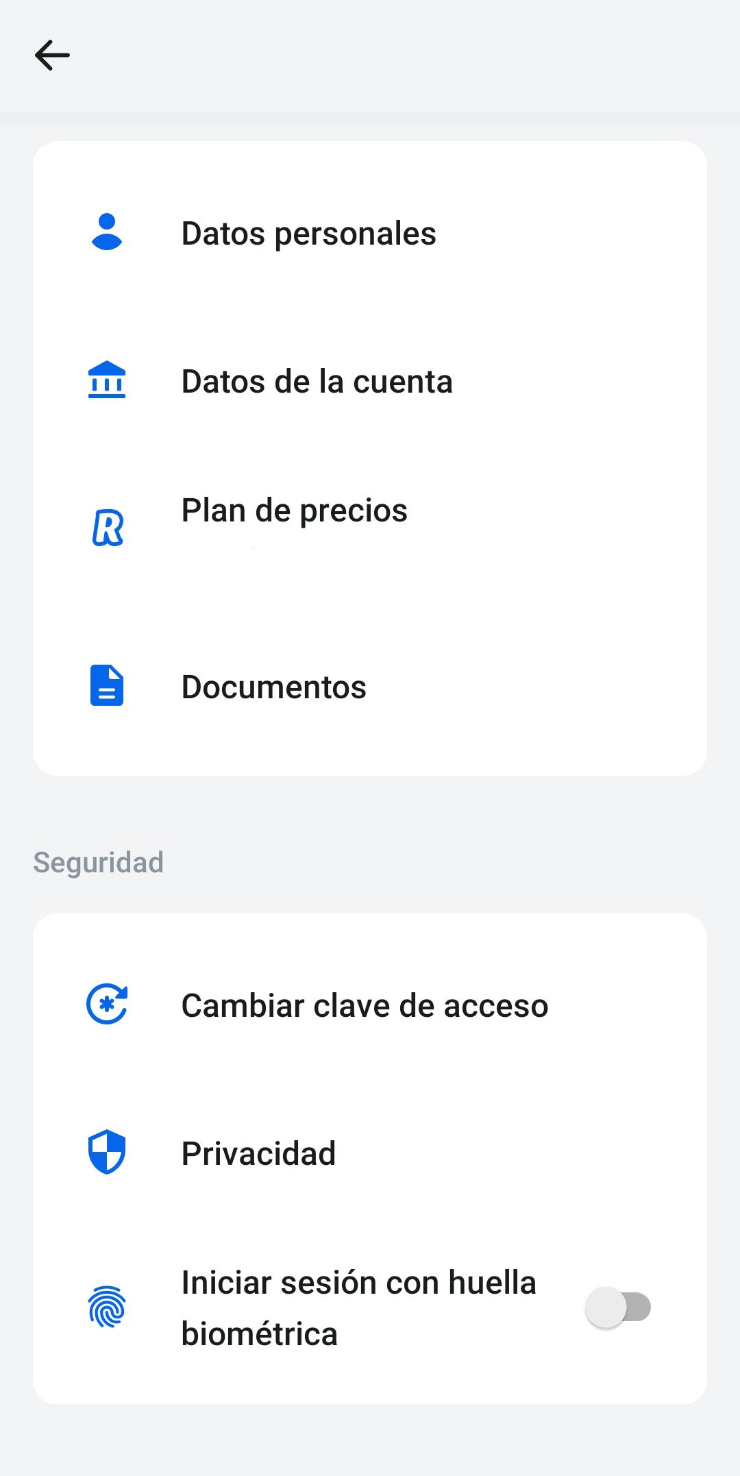 configuracion app revolut