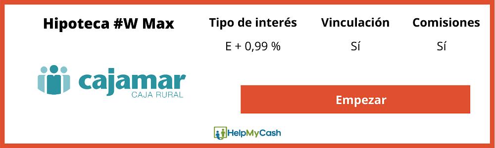 hipoteca cajamar #w max funcionarios