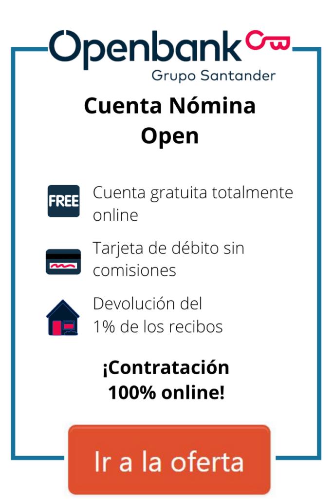 cuenta ahorro openbank
