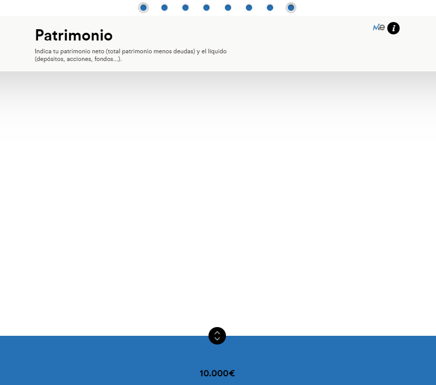 Planes de pensiones - patrimonio - paso 6 simulador inbestMe