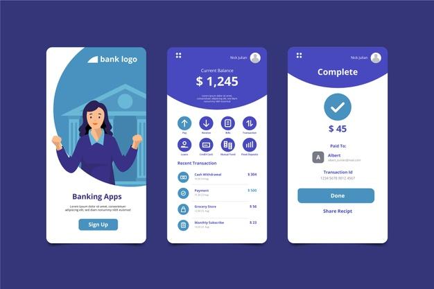 app de banco