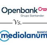 Comparativa de cuentas con devolución de recibos: Openbank vs. Mediolanum