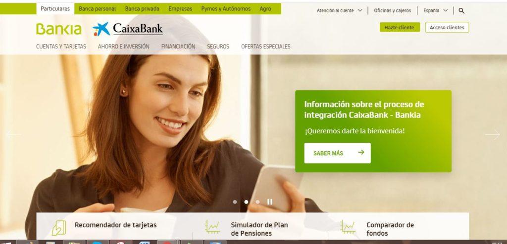 portal online de bankia