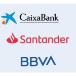 CaixaBank, Santander y BBVA igualan los requisitos en sus cuentas bancarias