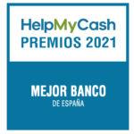 Premios HelpMyCash 2021: ¿cuál es el mejor banco de España?