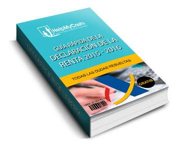 Guía de la declaración de la renta 2016 (antigua)